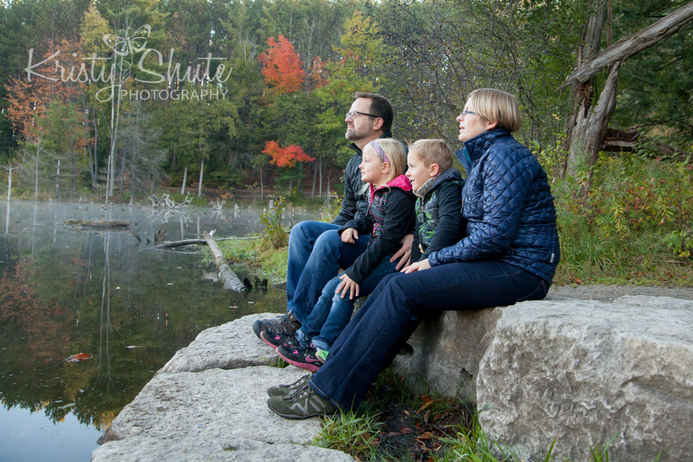 Kristy Shute Photography Family Huron Natural Area Fall
