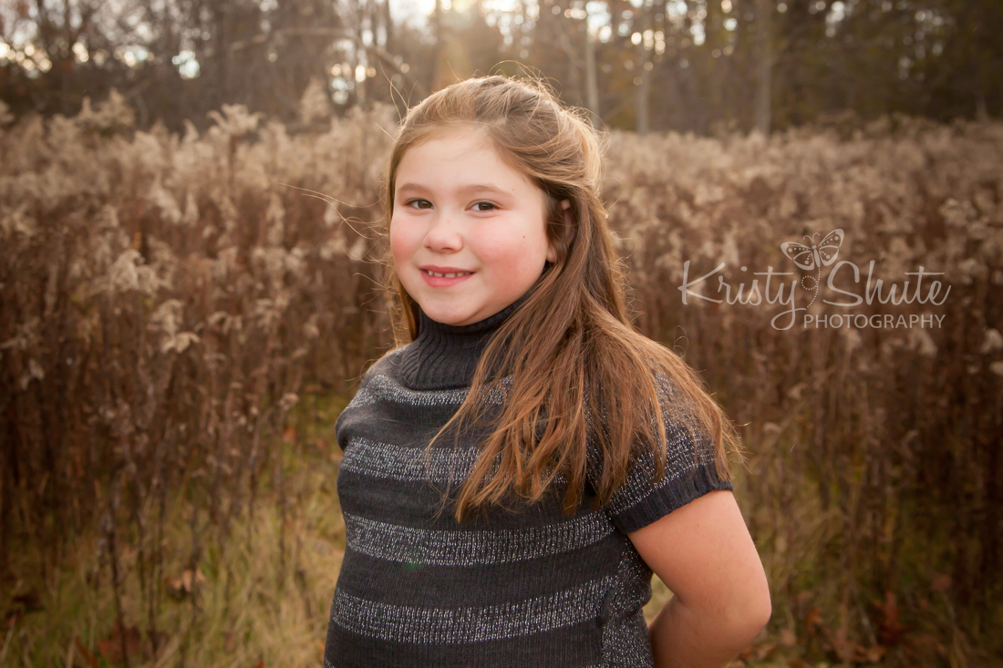 Kristy Shute Photography, Kitchener, Ontario, Huron Natural Area, Fall, Holiday, Family Session, Field