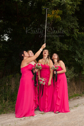 Kristy Shute Photography Kitchener Waterloo Wedding Golf's Steakhouse Economical Trail