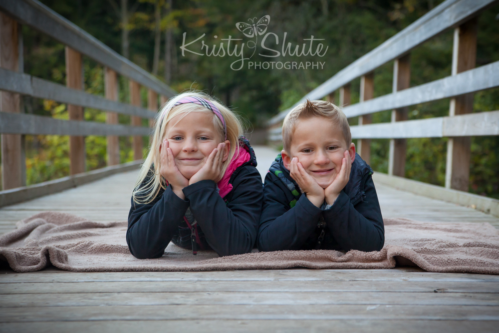 Kristy Shute Photography Family Huron Natural Area Fall Siblings
