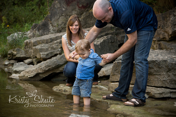 Elora Family Maternity Photography gorge water Kristy Shute
