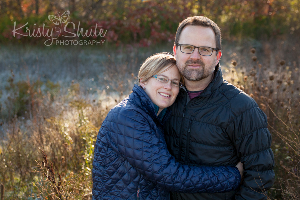 Kristy Shute Photography Family Huron Natural Area Fall Couple