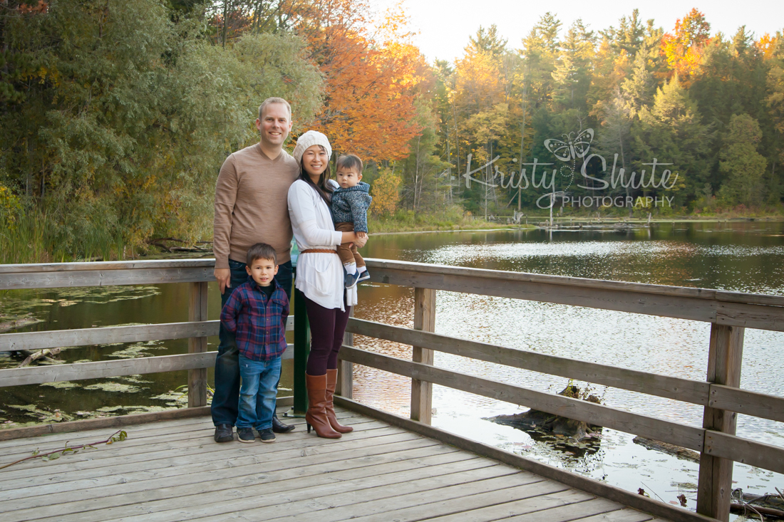 Kristy Shute Photography, Family, Fall, Huron Natural Area Kitchener