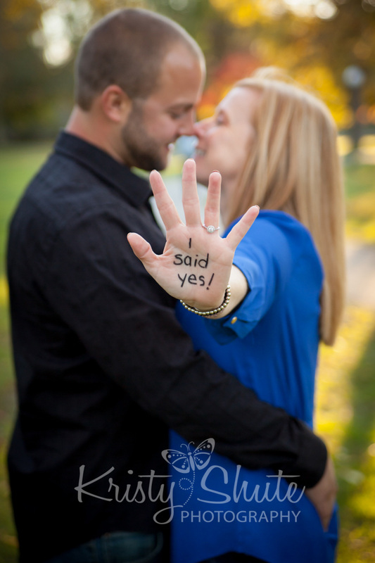 Kristy Shute Photography Engagement Victoria Park I Said Yes