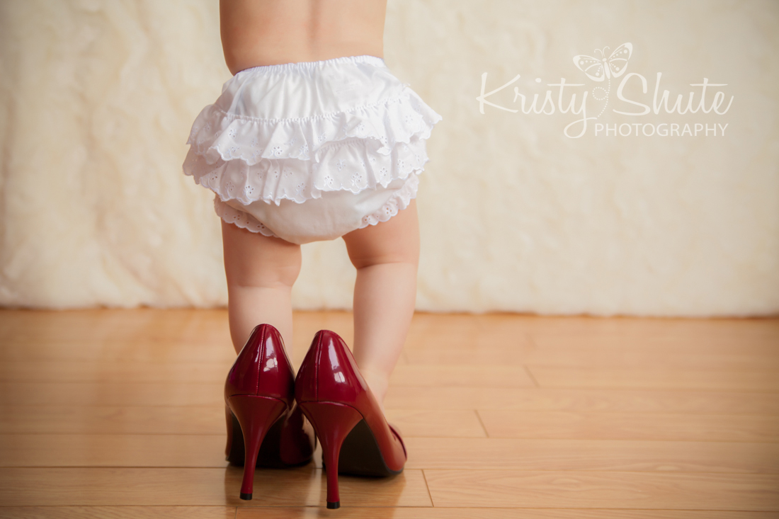 Kristy Shute Photography One Year Old Kitchener Shoes
