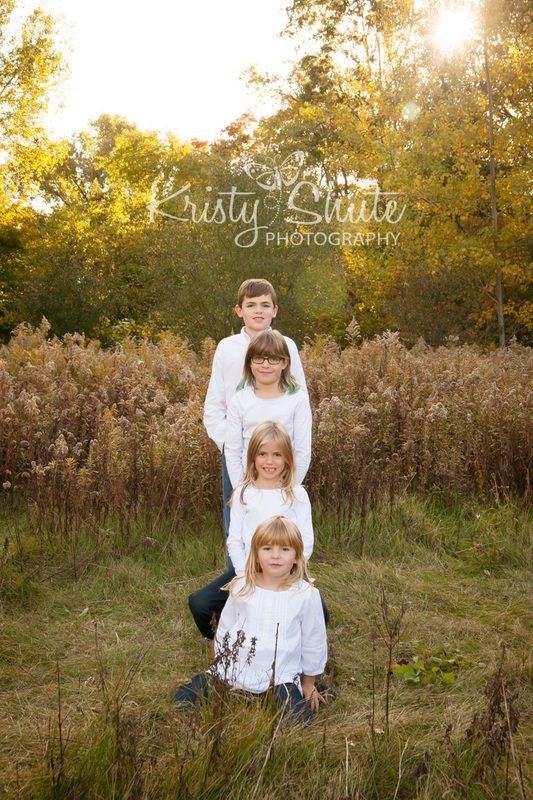 Kristy Shute Photography Fall Family Session Huron Natural Area Kitchener