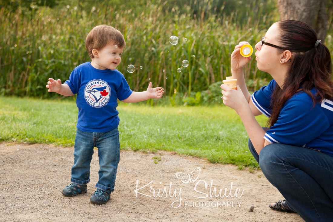 Kristy Shute Photography Family Waterloo Park Blue Jays