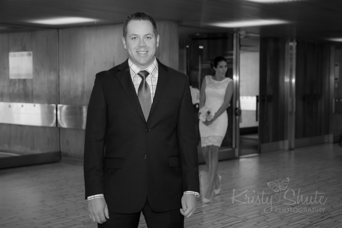 Kristy Shute Photography Kitchener Waterloo Toronto Wedding City Hall First Look