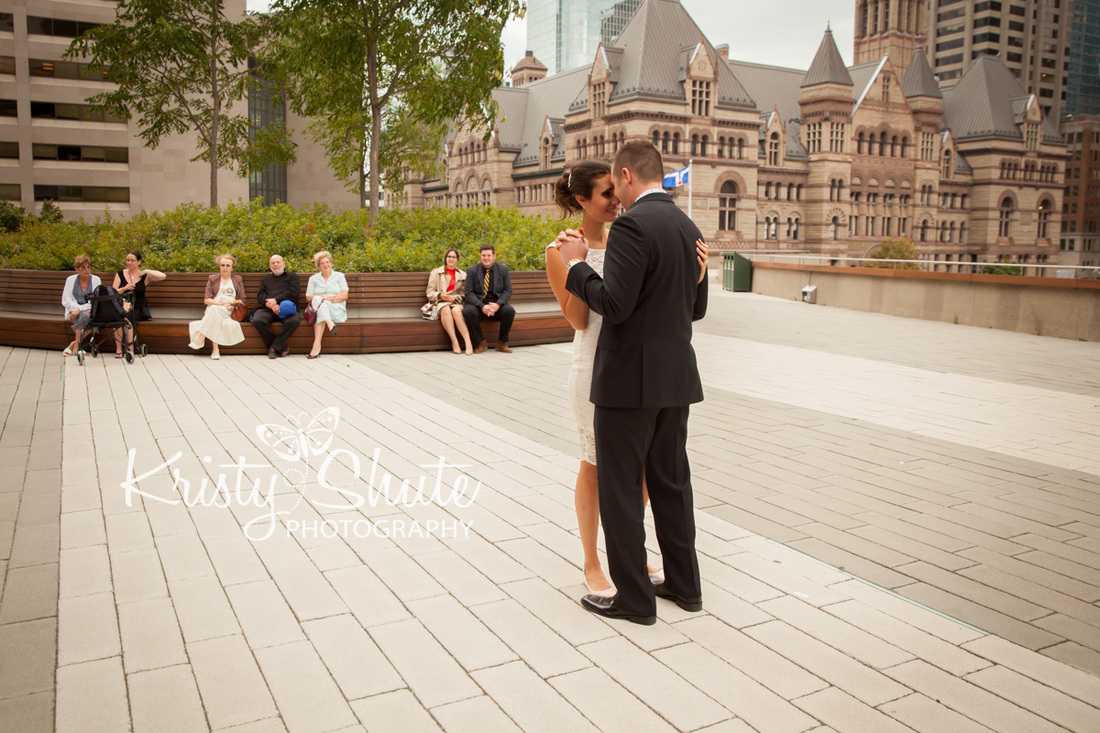Kristy Shute Photography Kitchener Waterloo Toronto Wedding City Hall First Dance